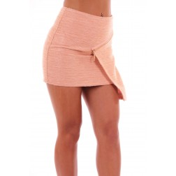 Josh V Ashlyn skirt in nude