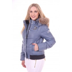 Nickelson Amoen winterjas in raf blauw