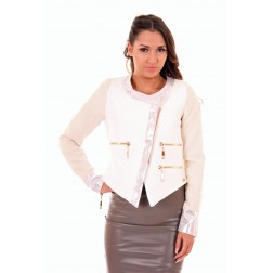 Josh V Charlene jacket in cream