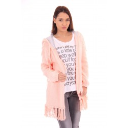 Goldbergh vest Anouck in fluo peach