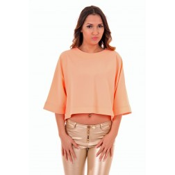 Josh V Mara top in peach