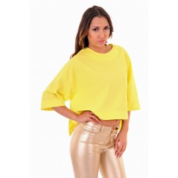 Josh V Mara top in lime