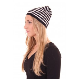 Nikkie by Nikkie beanie in black&white
