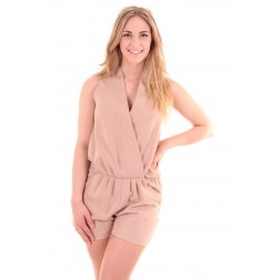Sahara collectie Josh V jumpsuitje in nude, Arizona