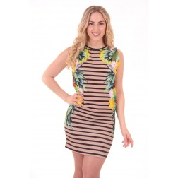 Fracomina Brigitte dress: tropical