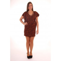 Relish Smasch dress in leopard