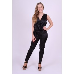 Jacky Luxury jumpsuit in zwart overslag model