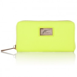 Josh V Waylon wallet in lime
