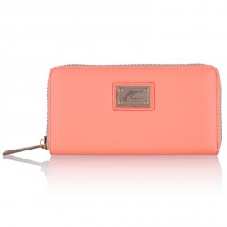 Josh V Waylon wallet in peach