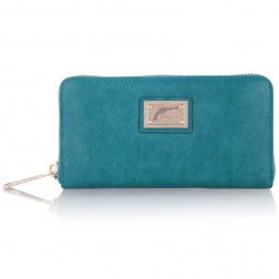 Josh V Waylon wallet in teal