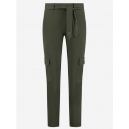 Nikkie Suzy Utility pants in night forest- travel