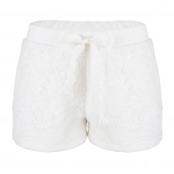 Jacky Luxury short in wit kant