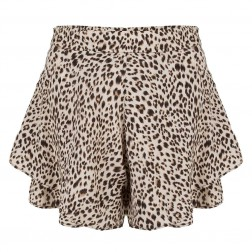 Jacky Luxury short in leopard