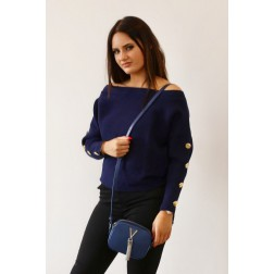 Guess Diana jumper in navy