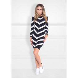 Nikkie Kasur dress - Chevron
