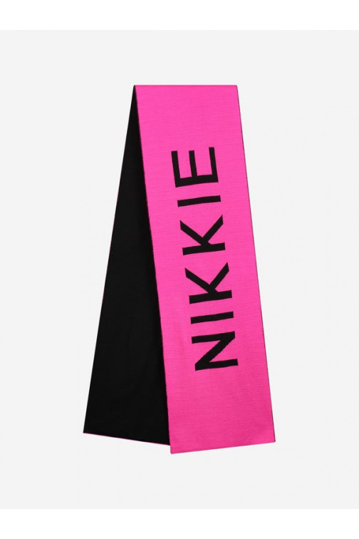 Nikkie Daisy scarf In Miami pink