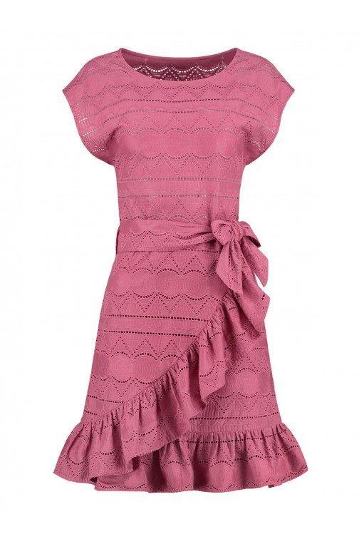 Nikkie Sawni dress embroidered in sunset