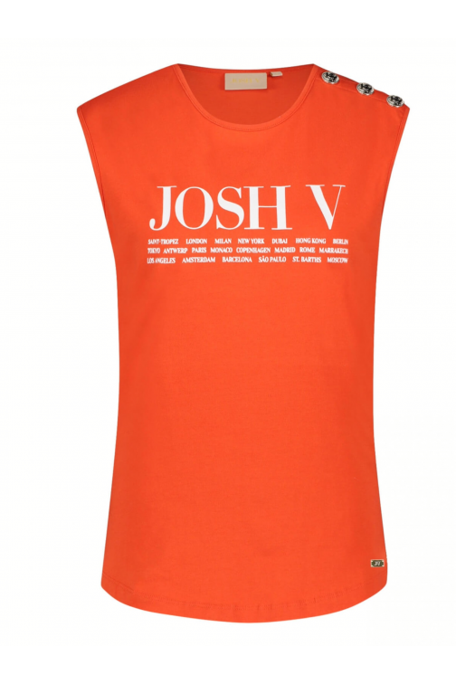 Josh V Indy cities top in lipstick red