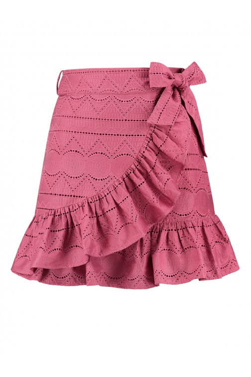 Nikkie Sawni skirt embroidered in sunset